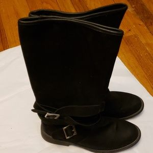 Rocket Dog Black Boots Size 8 M
